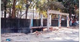 কুমিল্লা পলিটেকনিক ইনস্টিটিউট সম্মুখে অবৈধ স্থাপনা উচ্ছেদ