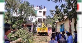 কুমিল্লায় এক ভবন উচ্ছেদে শেষ হলো দুই বছরের দুর্ভোগ