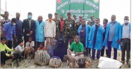 কুমিল্লায় সেনাবাহিনীর ফ্রি ভেটেরিনারী ক্যাম্পেইন