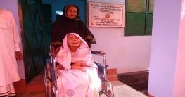 দুর্যোগ সহনীয় ঘর পেল বীরঙ্গনা আফিয়া