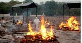 করোনার মহাবিপর্যয়ে ভারত, ফের মৃত্যু ও শনাক্তে রেকর্ড