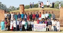 শালবন বিহারে 'বই পোকা'র বনভোজন