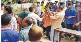 ব্রাহ্মণপাড়ায় শিক্ষার্থীদের ওপর বহিরাগতদের হামলা