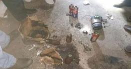 ফেলে যাওয়া কার্টুনে মিলল ৩ বোমা সাদৃশ্য বস্তু, দুটির বিস্ফোরণ