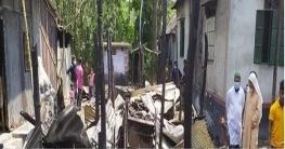 ব্রাহ্মণপাড়ায় অগ্নিকান্ডে ১২ লক্ষ টাকার ক্ষয়ক্ষতি