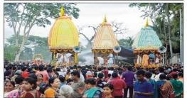 কুমিল্লায় রথযাত্রা উৎসব ও ধর্মীয় সভা