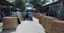 বরুড়ার হোগলা পাতার ধারি যাচ্ছে সারাদেশে